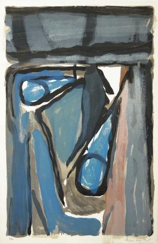 Juliet,Djian,Van Velde,peinture
