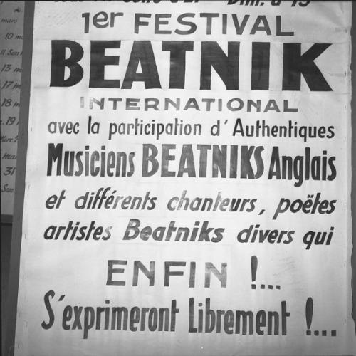 Beatnik Festival, Lyon, France, 1960.jpg