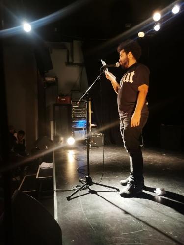 le cabaret poétique,le périscope,kenny ozier-lafontaine,hassan