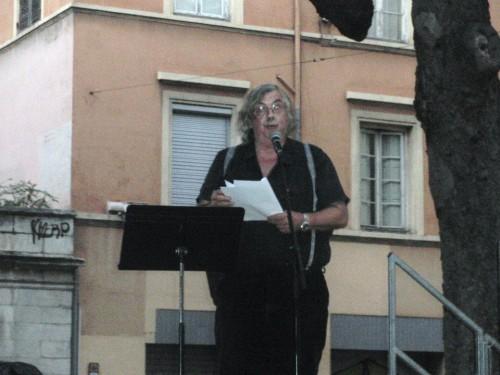 cabaret poétique,marathon poétique,place sathonay,renaud lescuyer,forum des langues,europe et cies,abraham bengio